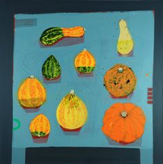 Emma Dunbar, Allotment Gourds on our Table, £895