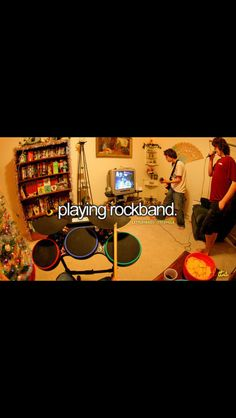 Playing Rock Band is the bomb Just Girly Things, Little Things, Get To Know Me, Getting To Know, Make Me Happy, Make Me Smile, Dont Forget To Smile, Don't Forget, Film Academy