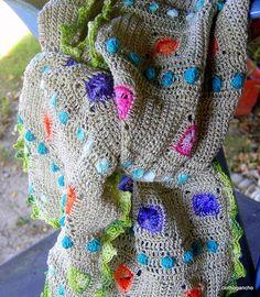 This makes me happy! Crochet Blanket