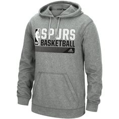 adidas Men's San Antonio Spurs Icon Status Hoodie - Gray S Mens Sweatshirts, Men's Hoodies, Spurs Fans, Adidas Nba, San Antonio Spurs, Sports Fan Shop, Grey Hoodie, Mens Fashion, Men's Clothing