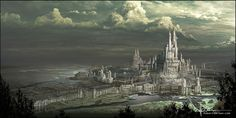 Citori, the capital city of Veloce. The Guardians also have a base here.  (High Fantasy Castle by Robert Brown)