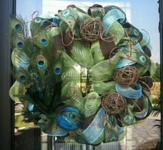 deco mesh wreath ideas | Craft Ideas / Deco mesh wreath
