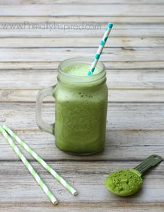 Green Tea Frappuccino from Primally Inspired (loaded with amazing health benefits!)