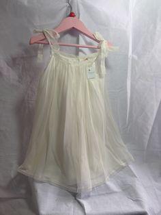 Bonpoint Cream Silk Party Dress — My Chelsea Wardrobe