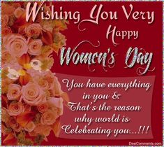 Womens Day Quotes National Ideas For 2020 Happy Woman Day, Happy Mother S Day, Happy Mothers, Woman Day Image, Happy Womens Day Quotes, Women's Day Cards, Women's Day 8 March, Birthday Wishes For Mom, Birthday Ideas