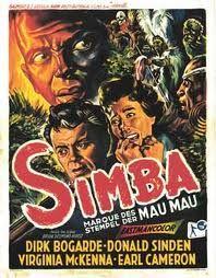 Simba Mark of Mau Mau Movie Poster