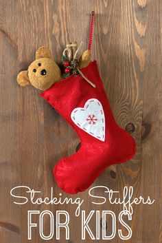 Great stocking stuffers for kids!
