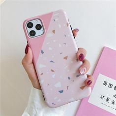 Black & Pink Geometric iPhone Case - For iphone X XS / Pink 1