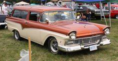 1957 Ford Ranch Wagon  2 door customized