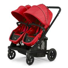 Valco Baby 2013 Spark Duo Stroller - Strawberry
