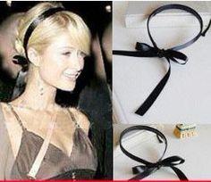 New Fashion Women Girl Trendy Black Headband Hair Band Pairs Hilton LKT0012 | eBay