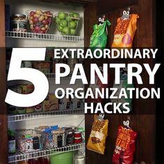 5 Extraordinary Pantry Hacks