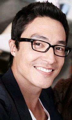 Hello handsome <3 <3 <3 <3 Smile alert <3 <3 <3 <3 <3 <3 #Glasses Credit: Daniel Henney Gallery on FB <3
