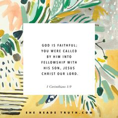 Come read Day 1 of our 1 & 2 Corinthians Bible study totally free at SheReadsTruth.com.