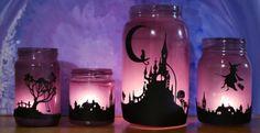 Šokující halloweenské dekorace ze zavařovacích sklenic!