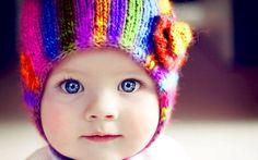 Cute Baby Funny Color