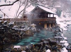 Takaragawa Onsen Rotenburo - photo by JohnCramerPhotography