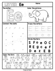 Preschool Alphabet Worksheets Az Alphabet Letter Worksheets A Z Letter Worksheets For Preschool, Preschool Writing, Preschool Letters, Alphabet Worksheets, Learning Letters, Alphabet Activities, Preschool Learning, Az Alphabet, Spanish Alphabet