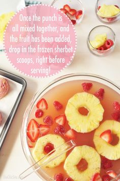 church punch recipes