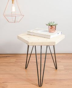 NEW Geometric coffee / side table made from sustainable