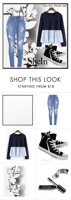 """""""Untitled #145"""" by anelaa1923 ❤ liked on Polyvore featuring By Lassen, Converse, Élitis and Bobbi Brown Cosmetics"""