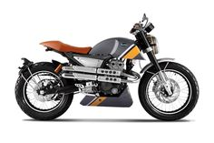 The good-looking but unfortunately-named Mondial Hipster motorcycle. - Bike EXIF