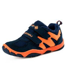 New 2016 Boys Child Sport Shoes Breathable Sneakers Trainers Children runing Shoes for Skid Breathable mesh baby Boys shoes(China (Mainland))