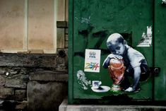 Street Art FIFA World Cup in Rio de Janeiro, Brazil 545643577254546565