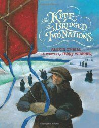 The Kite that Bridged Two Nations: Homan Walsh and the First Niagara Suspension Bridge | Nonfiction Monday