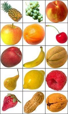 Klicke das richtige Obst an.