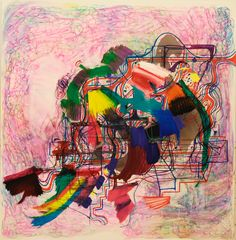Joanne Greenbaum Untitled 2011 Oil and ink on canvas x Abstract Drawings, Abstract Art, Modern Art, Contemporary Art, Amazing Drawings, Art Programs, Artist Art, Abstract Expressionism, Painting & Drawing