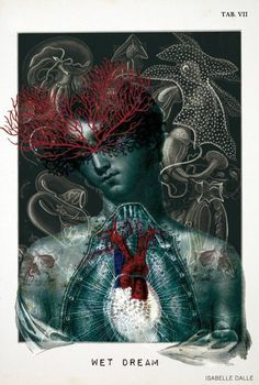 by Isabelle Dalle #Art #illustration #anatomy #human #body #heart