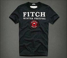 Vendre Pas Cher Homme Abercrombie Fitch Tee Shirts H0176 En ligne En France.
