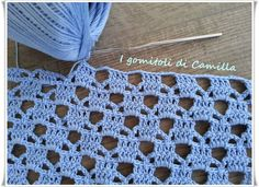 punto trafori a uncinetto Crochet Designs, Crochet Patterns, Crochet Baby, Crochet Top, Crochet Videos, Crochet Stitches, Baby Love, Baby Dress, Diy And Crafts