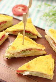 Toast Sandwich, Halloween Food For Party, Crepes, Snacks, Antipasto, Menu, Street Food, Wine Recipes, Finger Foods