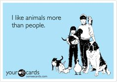 I say this all the time! The starving animal commercials are so much sadder than the starving kids!