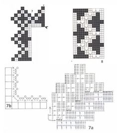 Кружево крючком. Схемы (5) (614x700, 294Kb)