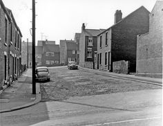Nos. 6 and 8 (right) Prestwich Street from Newman Road looking towards Vauxhall Road