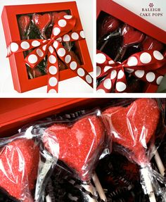 Cake Pop Packaging Idea for Valentine's Day