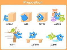 Prepositions are an extremely important part of speech. Use our preposition printables to help you child understand the difference. This printable features