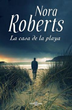 """""""La casa de la playa"""" de Nora Roberts. Tras once meses de pesadilla, Eli Landon esabsuelto del asesinato de su esposa , pero las brutales y circunstancias del crimen hacen que la sombra de la sospecha se siga cerniendo sobre él. Decide refugiarse en la casa de la playa de su abuela donde pasó los veranos más felices de su vida en, pero Abra Walsh, la vecina , no está dispuesta a permitir que siga regodeándose en su miseria. NOVELA NEGRA"""