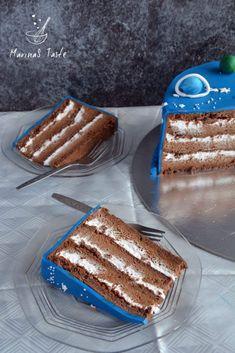 Torte Recepti, Kolaci I Torte, Baking Recipes, Cake Recipes, Dessert Recipes, Posne Torte, Torta Recipe, Serbian Recipes, Torte Cake