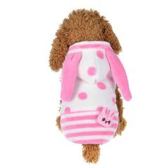 panDaDa Pet Dog Clothes Funny Costume Striped Warm Fleece Soft Puppy Coat Outfit For Small Dogs Winter Pet Hoodie Clothing Gifts For Pet Lovers, Pet Gifts, Dog Lovers, Pet Clothes, Dog Clothing, Puppy Coats, Cheap Pets, Funny Costumes, Dog Boutique