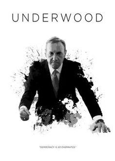 metal canvas Movies & TV house of cards frank underwood netflix president america usa democracy badass white black ring