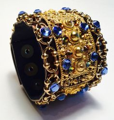 Byzantine inspired joxasa cuff