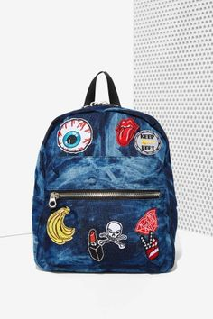 Little blue backpack, perfect for every girl on the move.  $55.00