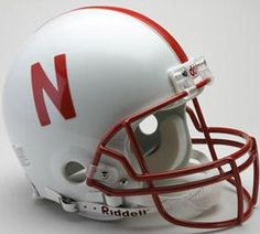 Nebraska Cornhuskers Football Helmet