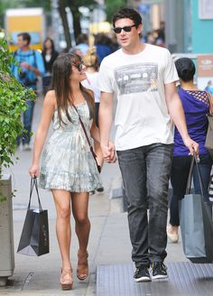 Lea Michele and Cory Monteith's Sexy Romance: Shopping Sweethearts