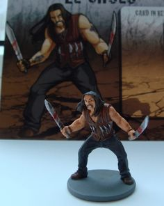 Proxy: Ross the veteran | zombicide | Miniatures, Painting