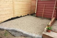 Image result for edging for gravel patio